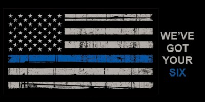 We support local law enforcement