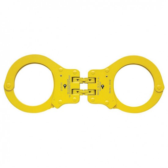Color Plated Hinged Handcuff