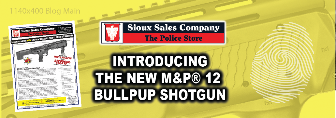 Introducing the NEW Smith & Wesson M&P 12 BullPup Shotgun